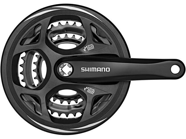 Shimano Altus FC-M311 Kurbelgarnitur 48/38/28 schwarz